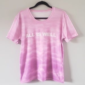 All Is Well Pink Clouds Women's T-shirt